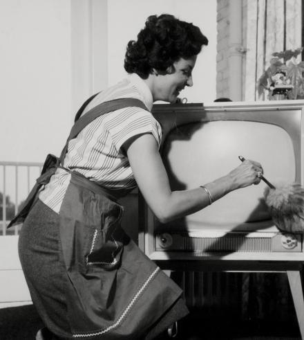 Damma av TV:n för nu är Den gastronomiska revolutionen med i Kunskapskanalen!