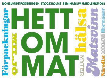 Konsumentföreningen Stockholms seminarium och medlemsmöte 2013